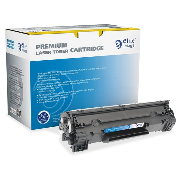 Elite Image MICR Toner Cartridge - Remanufactured for HP (83A) - Black Laser - 1500 Page