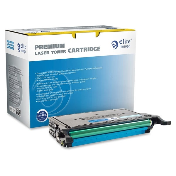 Elite Image Toner Cartridge - Remanufactured for Samsung (CLP-775) - Cyan Laser - 7000 Page