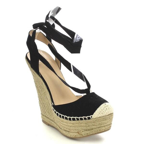 Wild Diva KENDALL-88 Women's Espadrille Wedge Heels