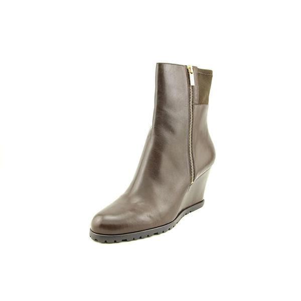Michael Michael Kors Women's 'Aileen Wedge' Leather Boots