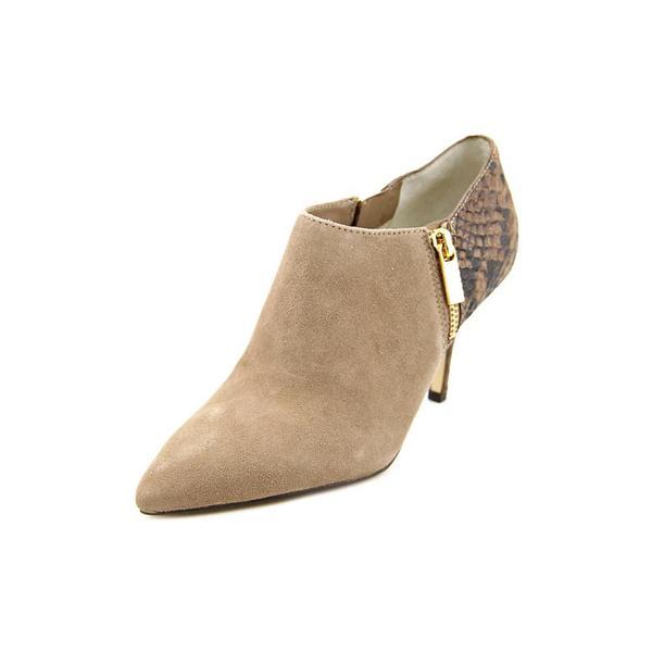Michael Michael Kors Women's 'Clara Mid Bootie' Regular Suede Boots