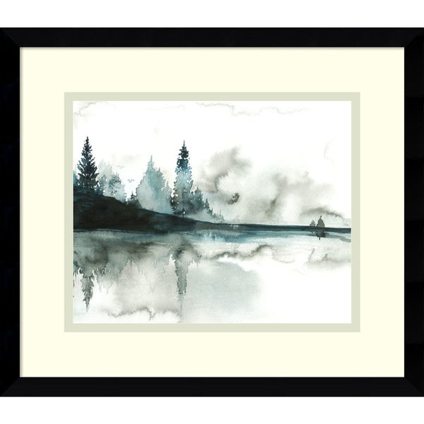 Jessica Durrant 'Beyond the Pines' Framed Art Print 15 x 13-inch
