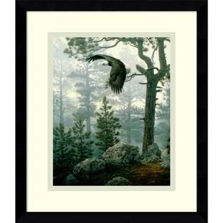 Daniel Smith 'Shrouded Forest (detail)' Framed Art Print 12 x 14-inch