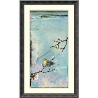Ingrid Blixt 'Bird Window II' Framed Art Print 18 x 30-inch