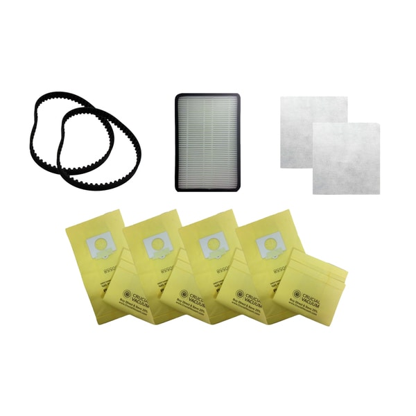 2 Kenmore CB1 Belts EF2 Filter 2 CF1 Filters and 9 5055 Paper Bags