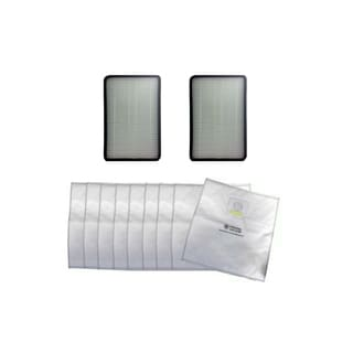 2 Kenmore EF1 Filters and 9 5055 50557 and 50558 Cloth Bags Part # 20-5055 20-50557 20-50558 and 86889