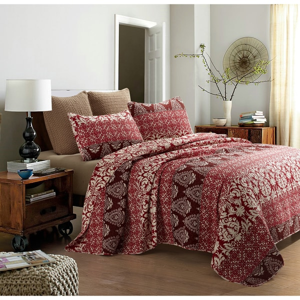 Osborne 3-piece Quilt Set