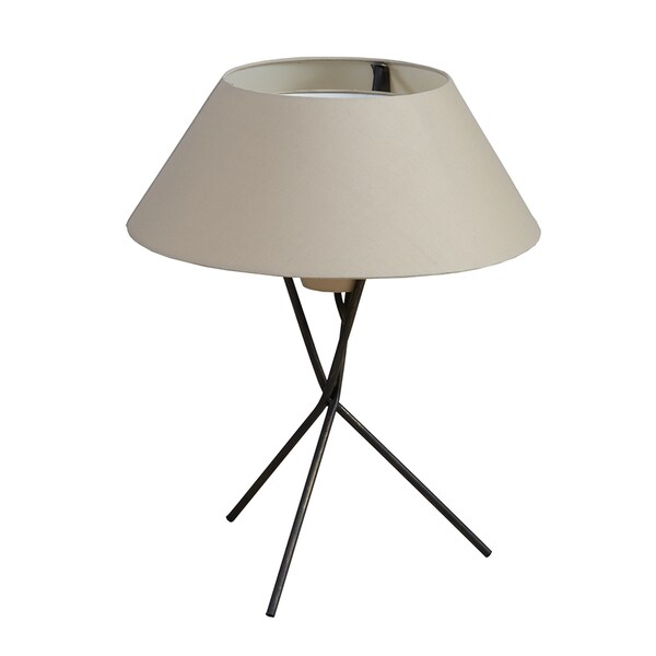 INK+IVY Trio Black Metal Table Lamp