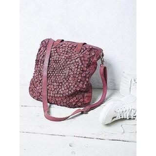 Old Trend OT19003 Stellar Stud Burgundy Tote Bag