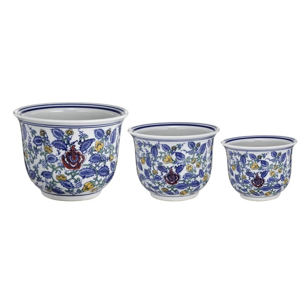 Ceramic Pots (Set of 3)