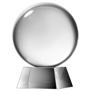 Kathy Ireland Table Glass Sphere