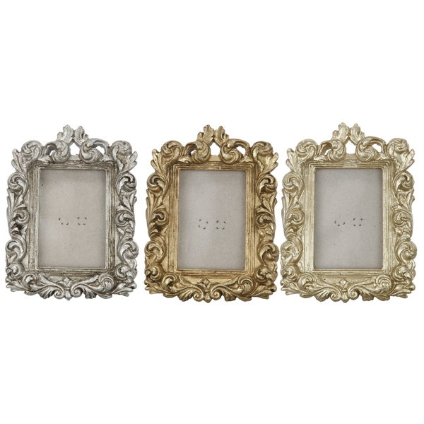 Rectangle Photo Frames (Set of 3)