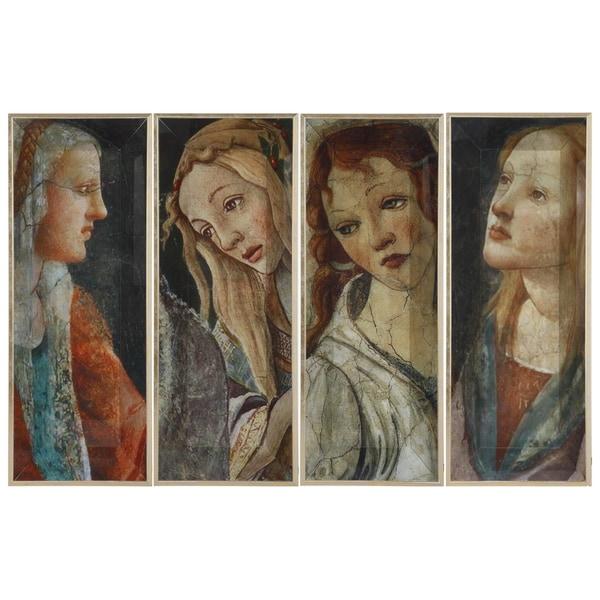 Portrait Trays (Set of 4)