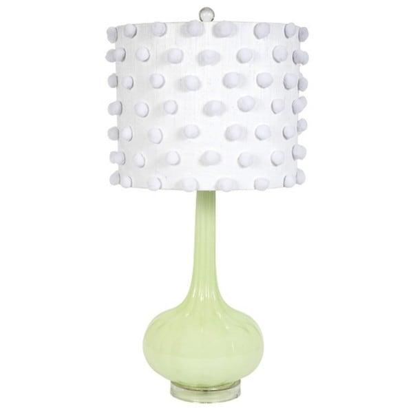 Jubilee Green Pom Pom Squash Lamp
