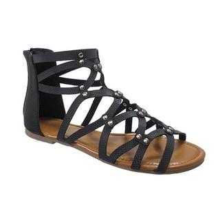 Beston DB35 Women's Gladiator Flat Sandals