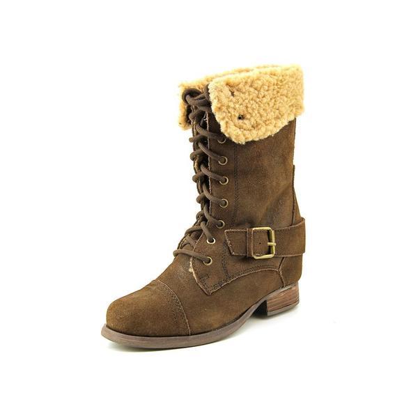 SKCH+3 by Skechers Women's 'Infantry - Stylish Soldier' Regular Suede Boots