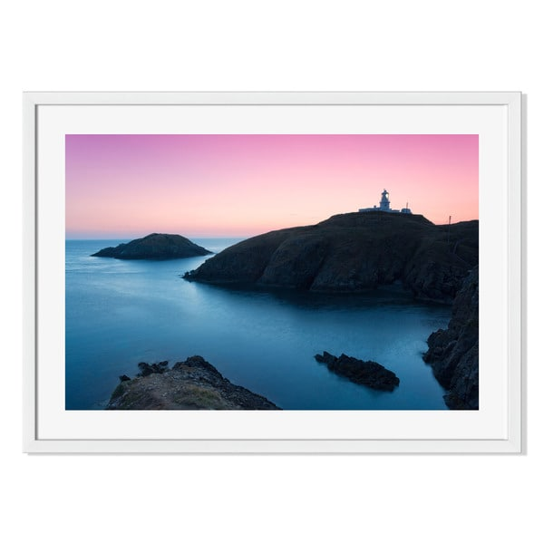 Gallery Direct Pembrokeshire Coast Print by Spumador on Paper Frame Wall Art