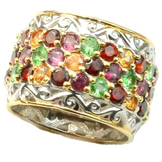 Michael Valitutti Multi Sapphire Eternity Ring
