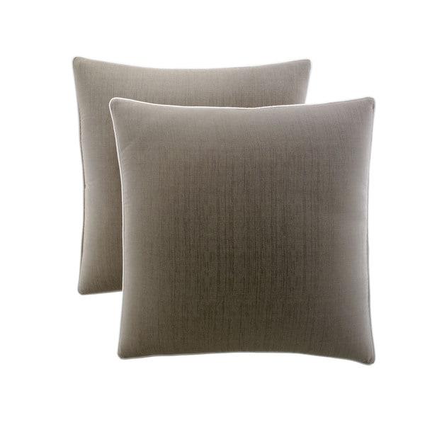 Stone Cottage Medallion Cotton Sateen European Pillowcases (Set of 2)