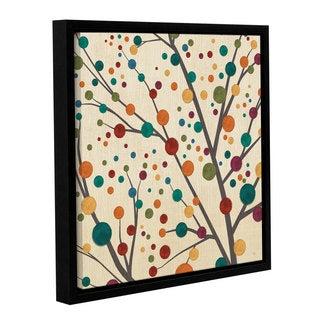 ArtWall Studio Pela's Flying Colors Tree Light I, Gallery Wrapped Floater-framed Canvas