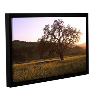 ArtWall Kathy Yates's Golden Hour, Gallery Wrapped Floater-framed Canvas