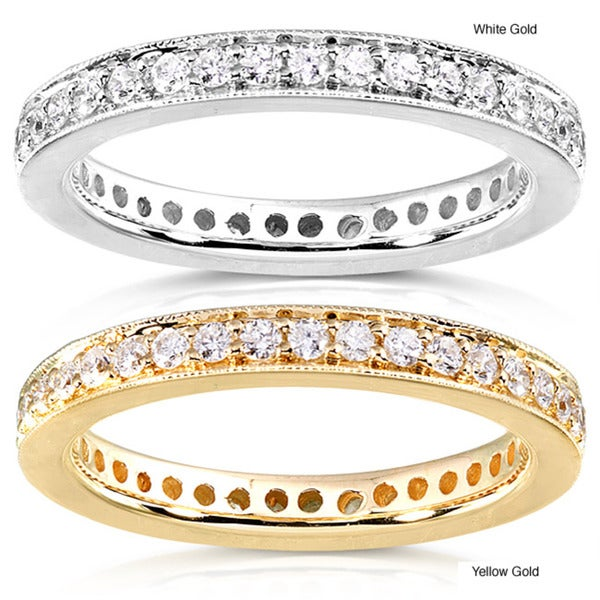 Annello 14k Gold 1/2ct TDW Diamond Eternity Band (G-H, I1-I2)