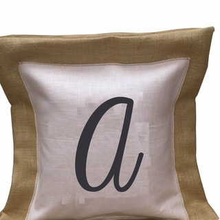 Southern Apparel and Serendipity Initial Down Filled Accent Pillows