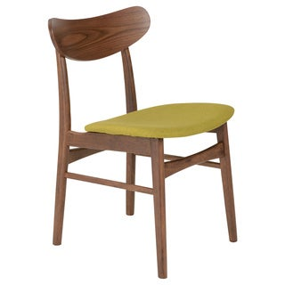 Euro Style Fletcher Avocado Green Side Chair (Set of 2)