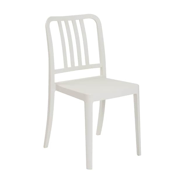 Halliday Stacking Chair (Set of 4) - White