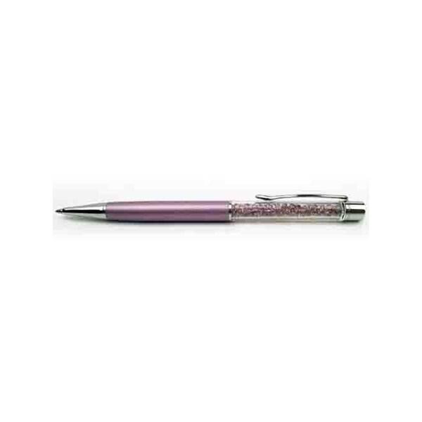 Swarovski Crystalline Slender Ballpoint Pen, Purple Pearl