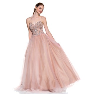 Terani Couture Women's Sweetheart Top Strapless Ballgown