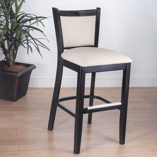 Empire Beige Microfiber Counter Stools Set Of 2