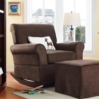 Baby Relax Mackenzie Chocolate Rocker