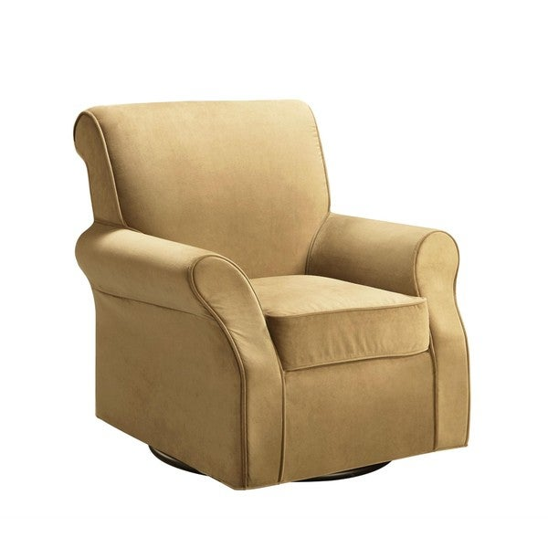 Baby Relax Urban Butter Cream Swivel Glider