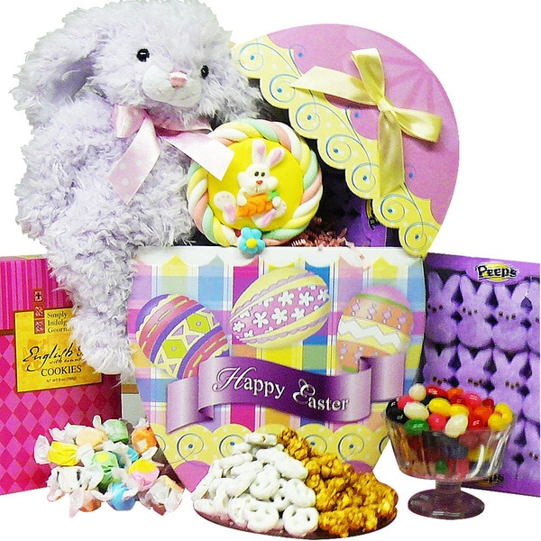 Art of Appreciation Easter Egg-stravaganza Plush Bunny Rabbit Gift Box