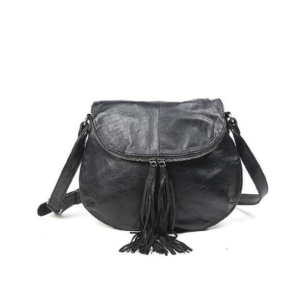 Old Trend Plantain Black Crossbody