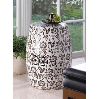 Florentine Ceramic Stool
