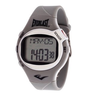 Everlast Grey HR5 Finger Touch Heart Rate Monitor Watch