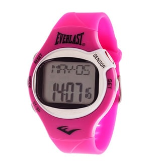 Everlast Pink HR5 Finger Touch Heart Rate Monitor Watch