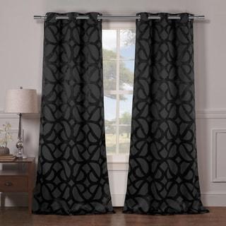 Duck River Charlotte Blackout Grommet Curtain Panel Pair