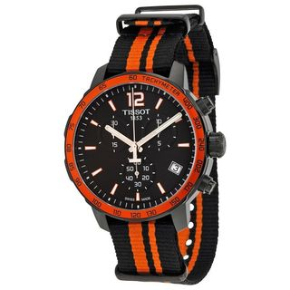 Tissot Men's T0954173705700 'Quickster' Chronograph Extra Band Black Nylon Watch