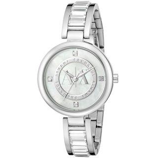 Armani Exchange Women's AX4231 'Julietta' Crystal Stainless Steel Watch