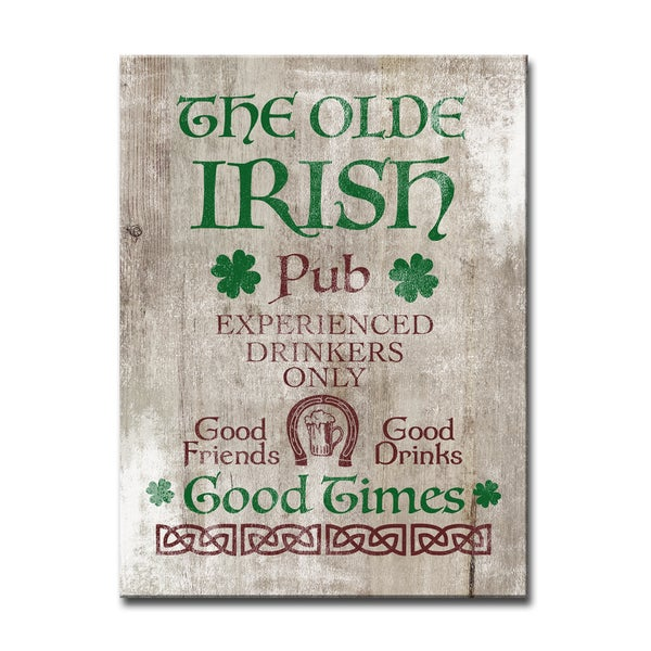 Ready2HangArt 'Good Times at the Irish Pub' Canvas Art