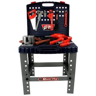 Velocity Toys Quality Workbench Children's Play Work Shop Tool Set