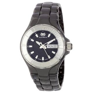Technomarine Unisex Ceramic 110026C Cruise Black Dial Watch
