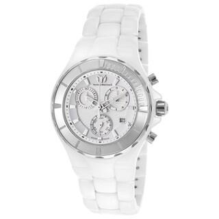 Technomarine Unisex Ceramic 110030C Cruise White Dial Chronograph Watch