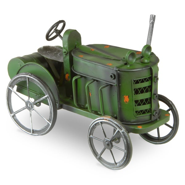 National Tree Company Metal Tractor