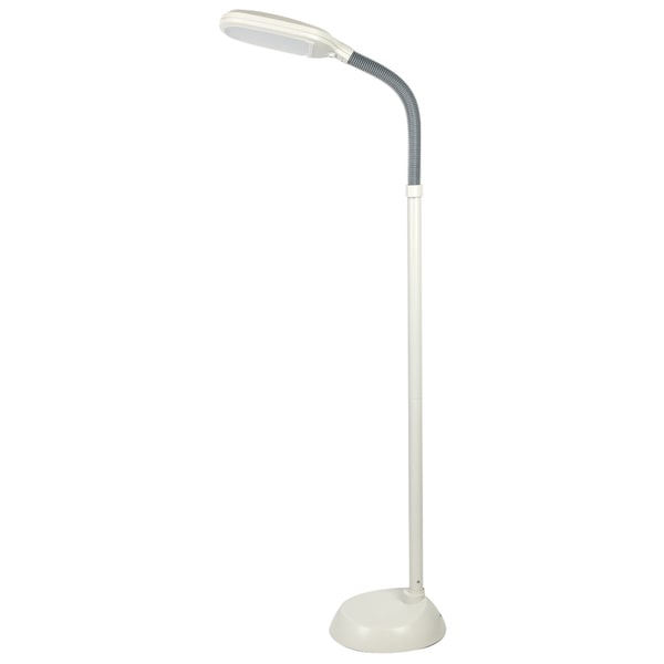 Tensor 19848-000 55-Inch LED Natural Daylight/Full Spectrum Floor Lamp, Beige