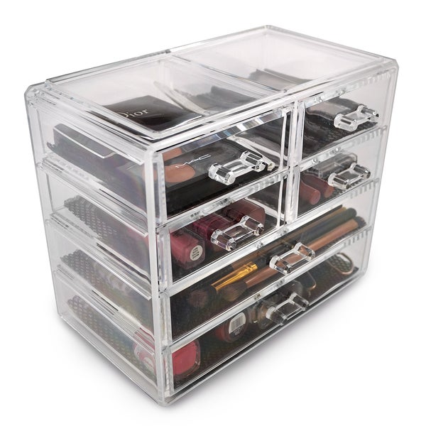 Acrylic Drawer Makeup Organizer with Removable Drawers - 18309392 ...