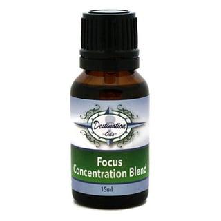 Destination Oils 15ml Focus Concentration Essential Oil Blend